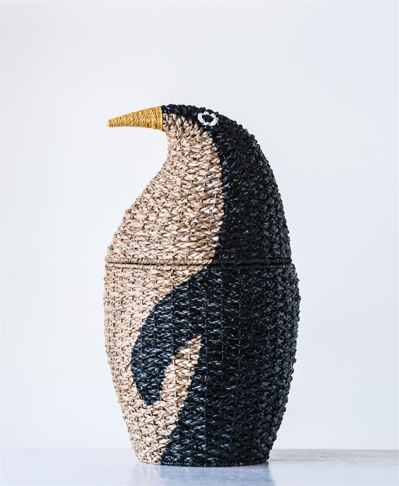 Woven Bangkuan Penguin Basket for Storage