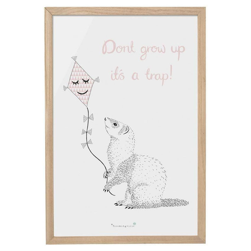 Dont Grow Up. Its A Trap Wall Decor