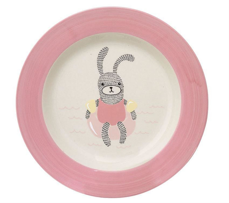 Ellie Soup Plate In Rose - Bowl
