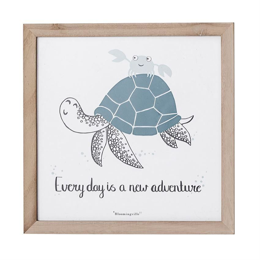 Every Day Is A New Adventure Sea Turtle Wall Decor