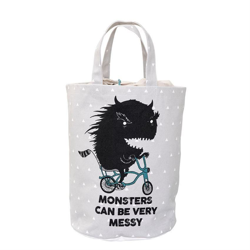 Grey Monster Storage Bag - Decor