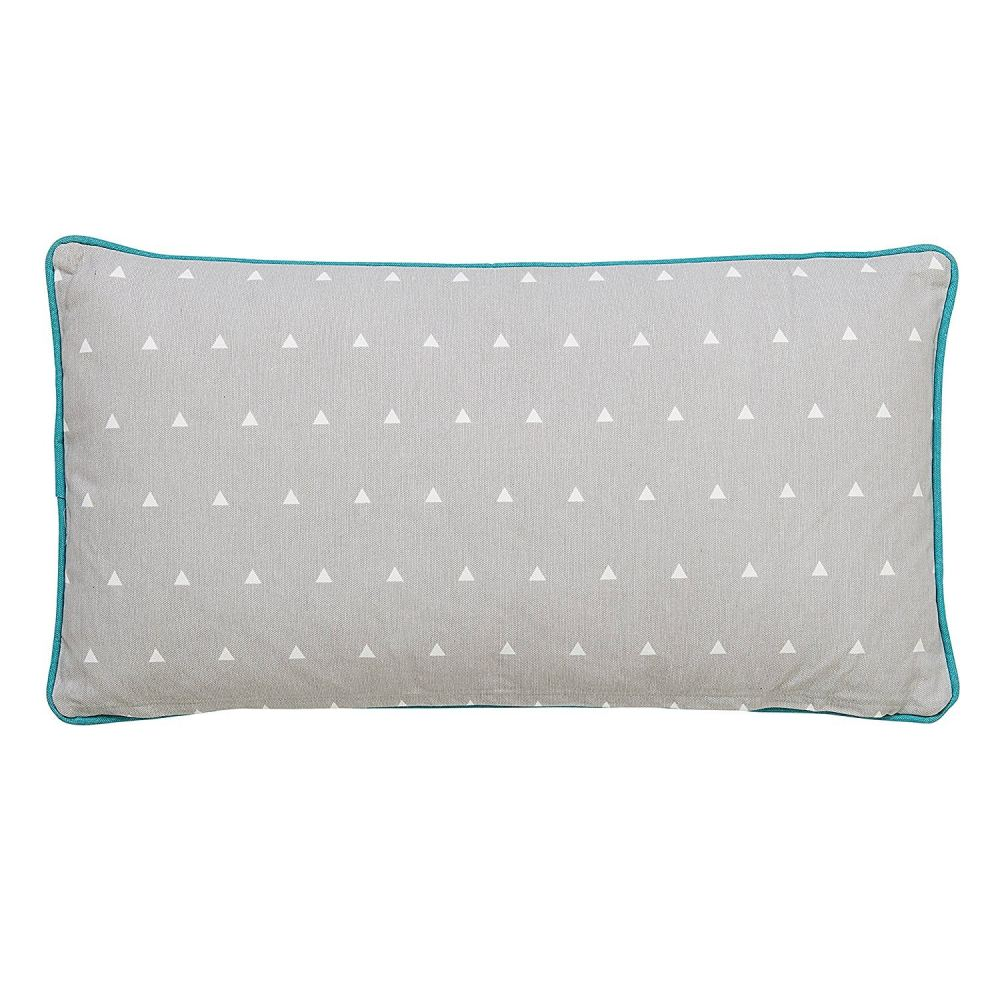 Grey Wild And Free Monster Pillow