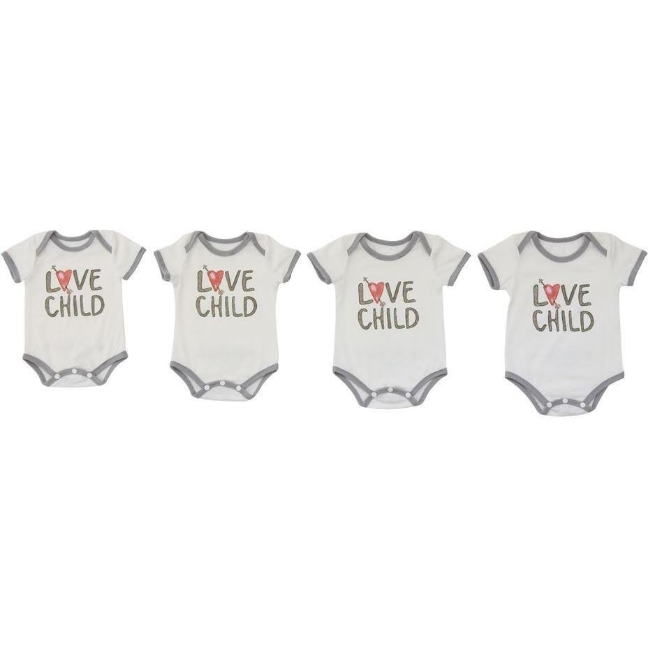 Love Child Baby Onesies - Clothing