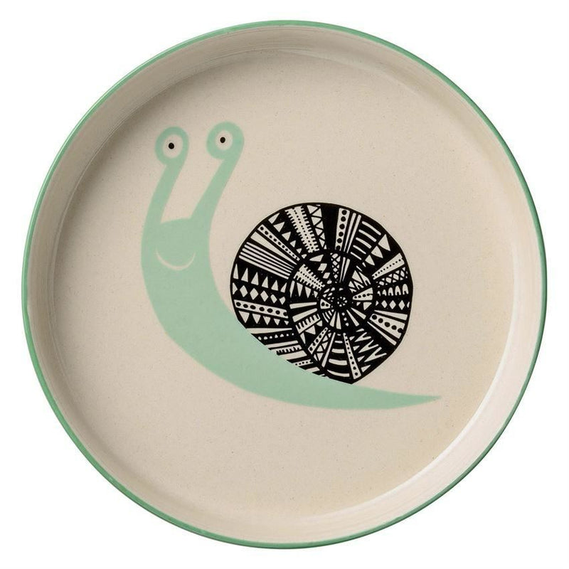 Marius Low Bowl With Snail - Plates