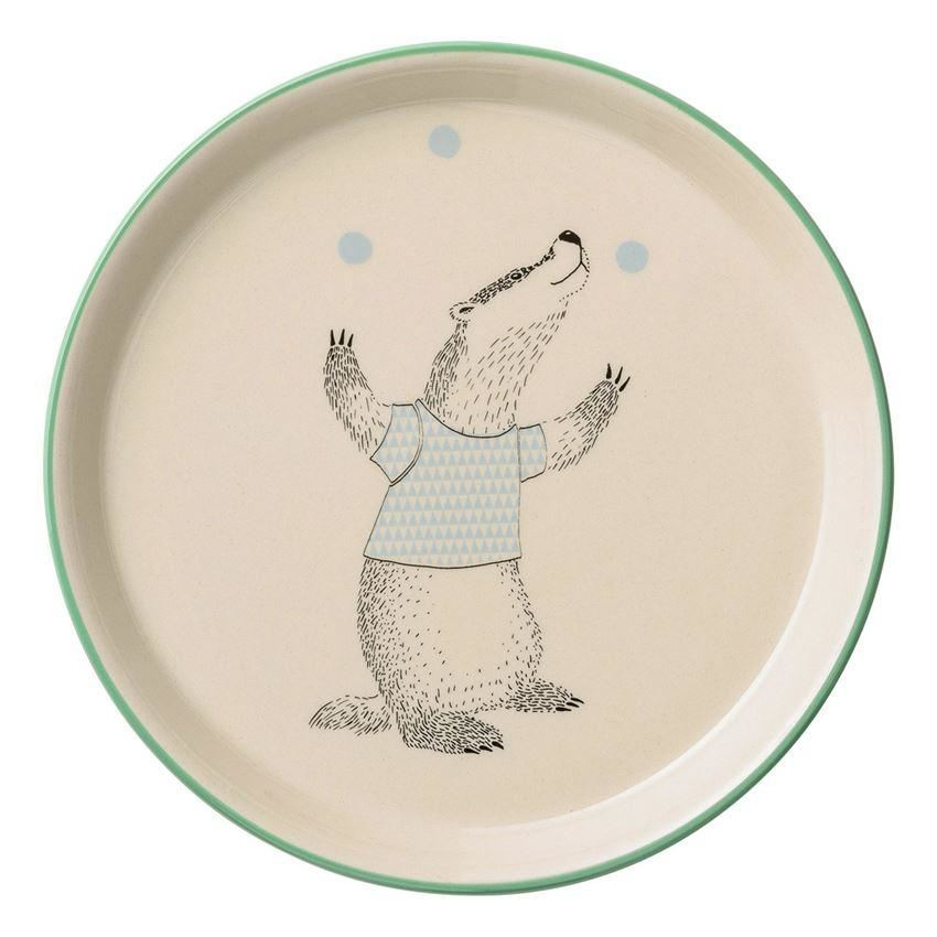 Marius Plate With Badger - Plates