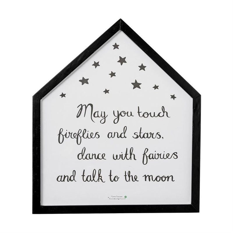 May You Touch Fireflies And Stars Wall Decor