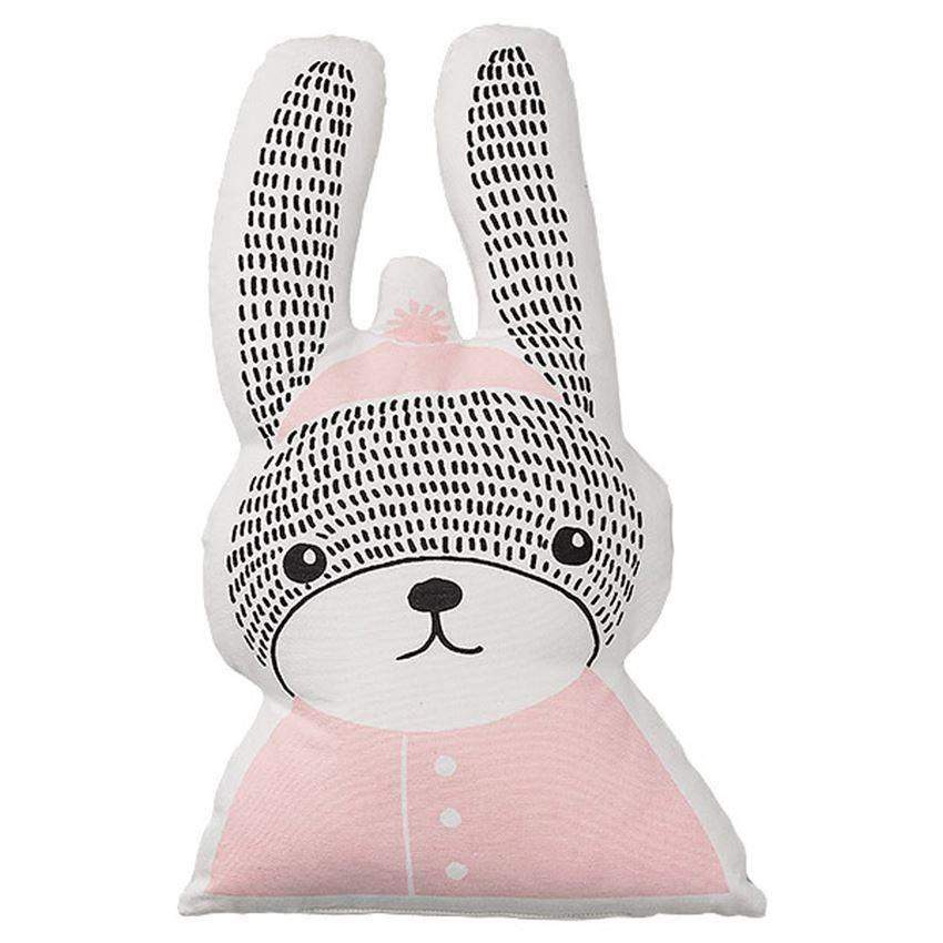 Rabbit Shaped Pillow