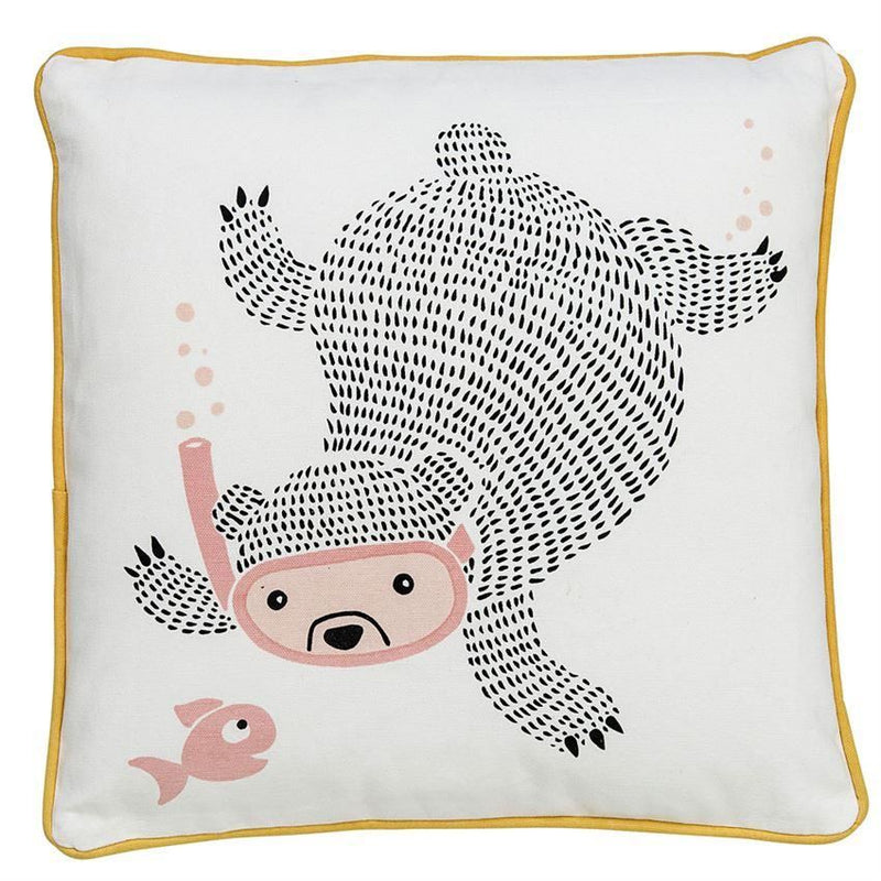 Rose Bear Pillow
