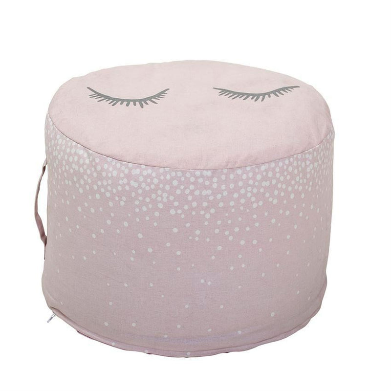 Rose Cotton Pouf - Furniture