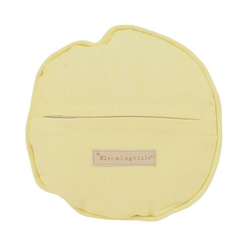 Sleeping Mouse Pillow With Lemon Trim