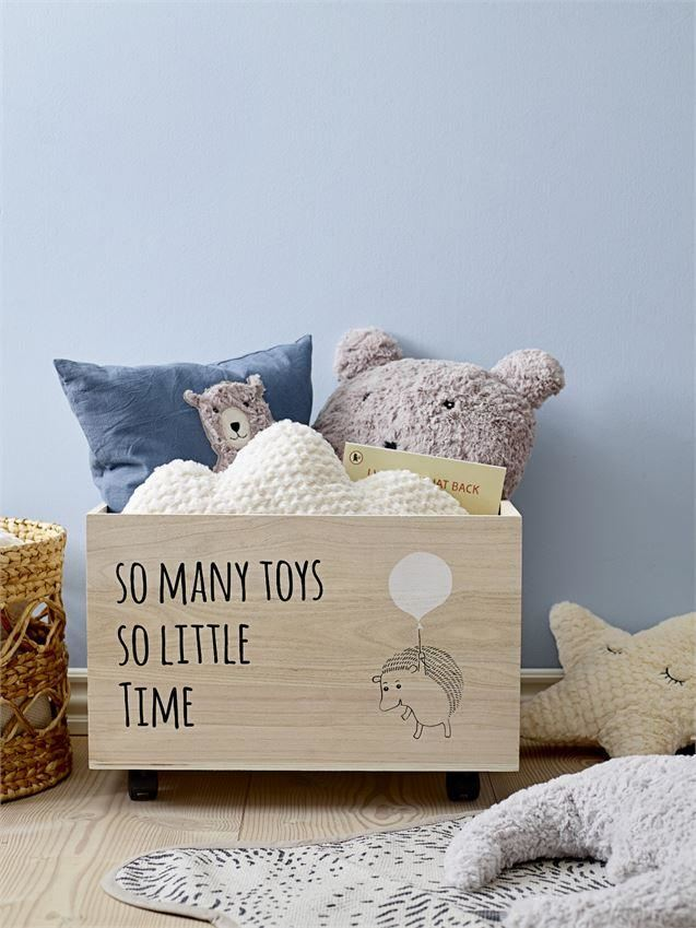 So Many Toys Little Time Box With Wheels Décor - Decor
