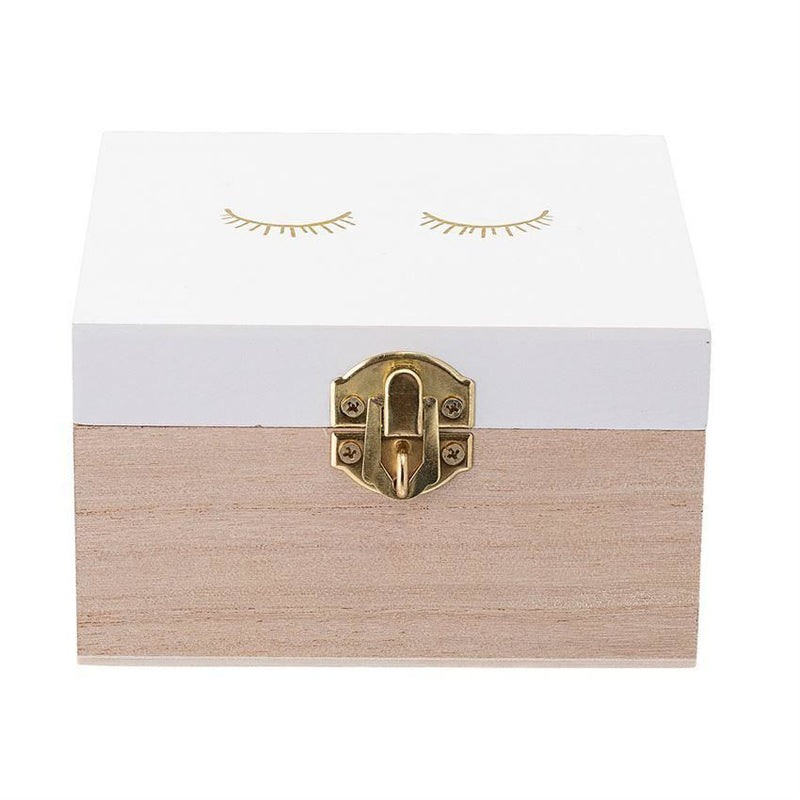 Square Wood Box - Decor