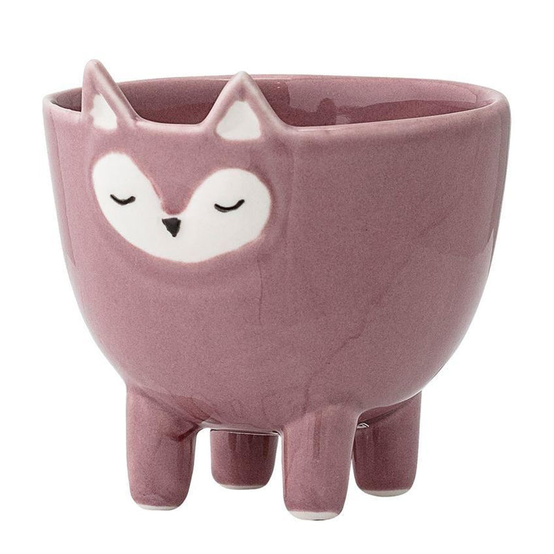 Stoneware Fox Bowl With Feet - Bowl