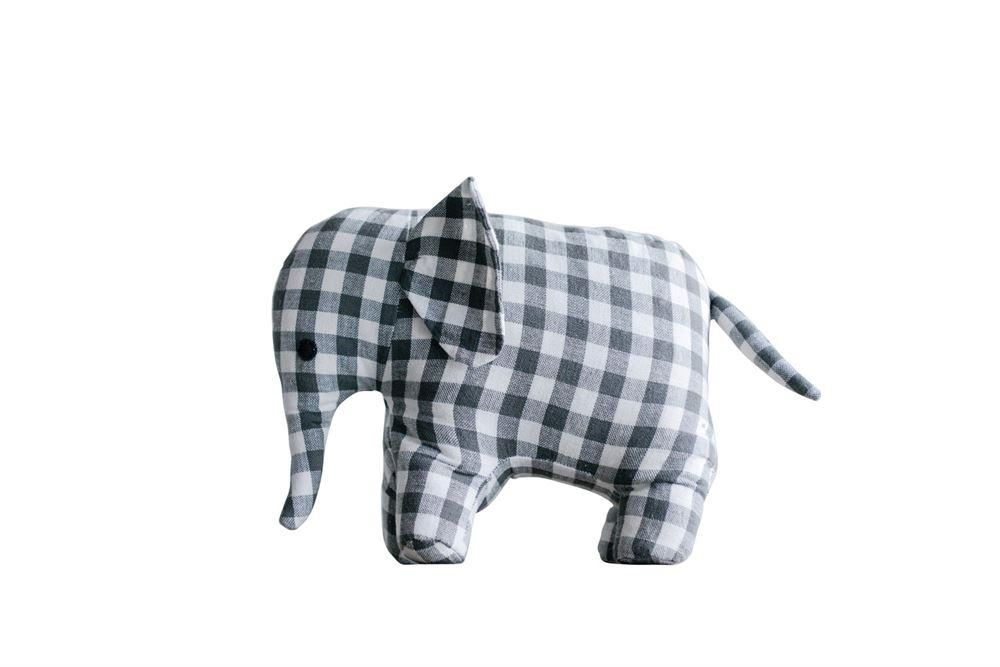 Weighted Elephant Shaped Door Stop - Decor