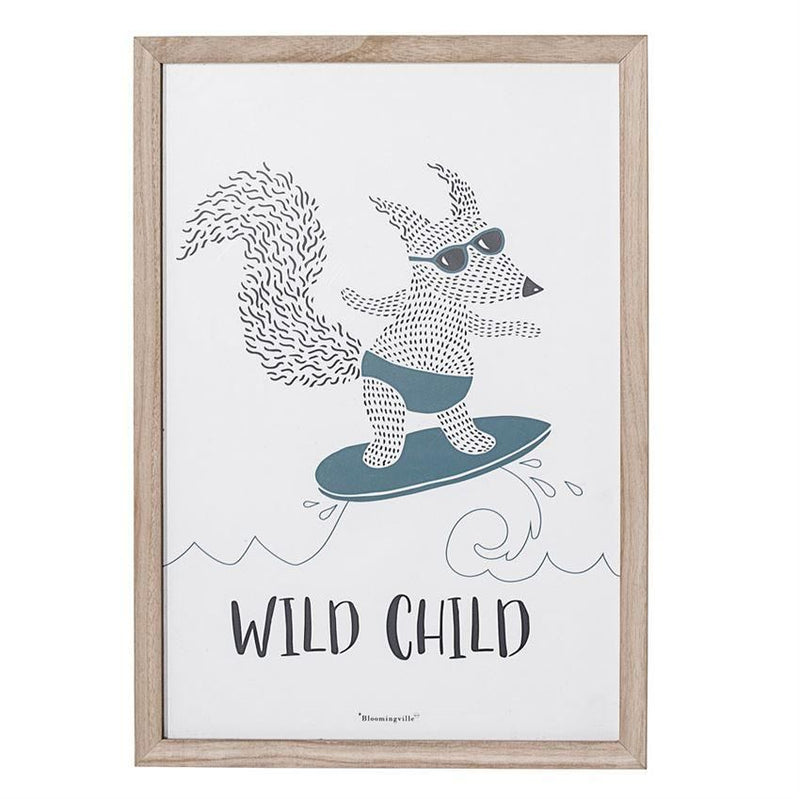 Wild Child Fox Wall Decor