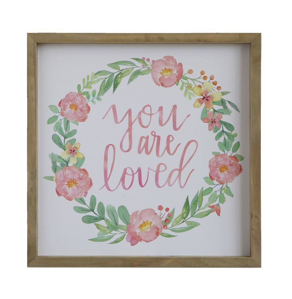 You Are Loved Wall Decor