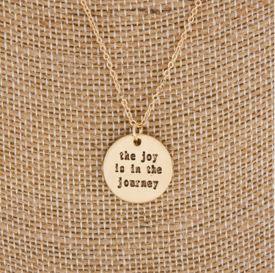Joy in the Journey Necklace
