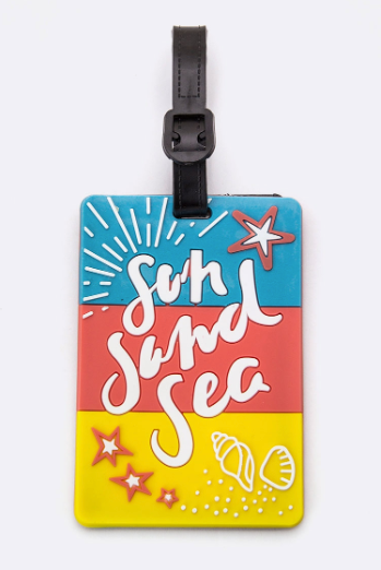 Sun, Sand, & Sea Luggage Tag