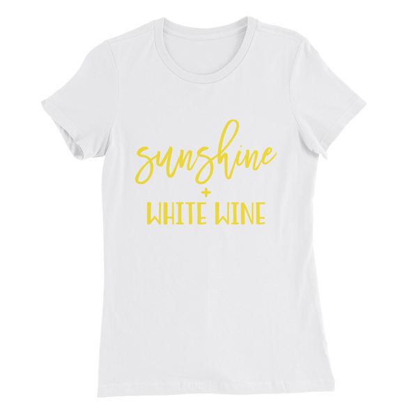 Sunshine & White Wine T-Shirt