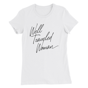 Well Traveled Woman T-Shirt