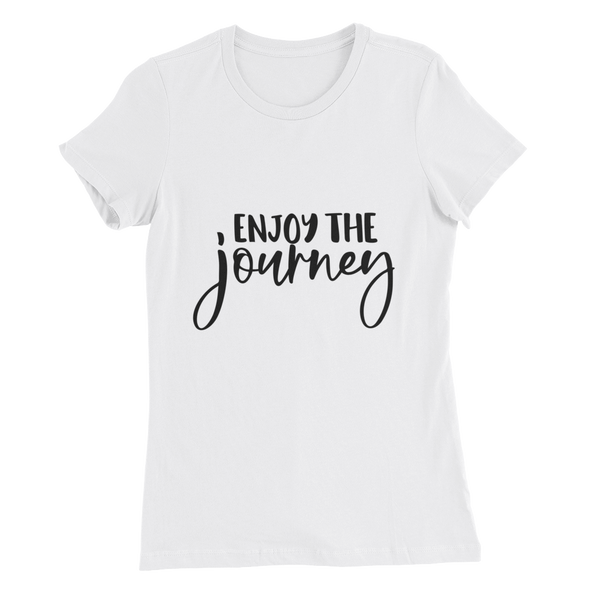 Enjoy the Journey Tee Women's Slim Fit T-Shirt
