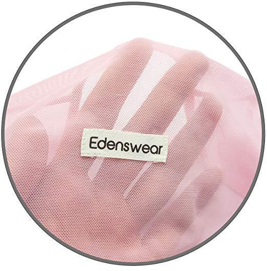 Edenswear Zinc-Infused Summer Mesh Mitten Sleeves-EczemaOasis