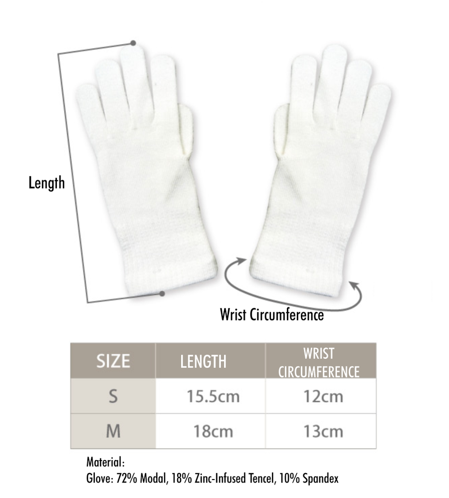Zinc-infused Gloves for Kids - Eczema Oasis