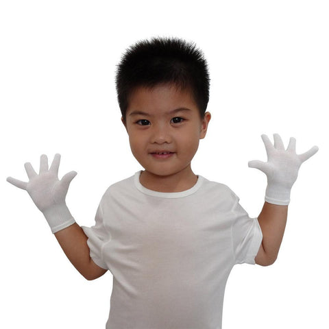 Edenswear Zinc-infused Gloves (Kids)-EczemaOasis