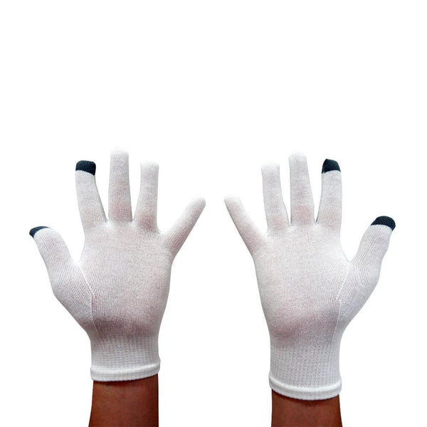 Edenswear Zinc-Infused Touch Screen Gloves for Adults-EczemaOasis