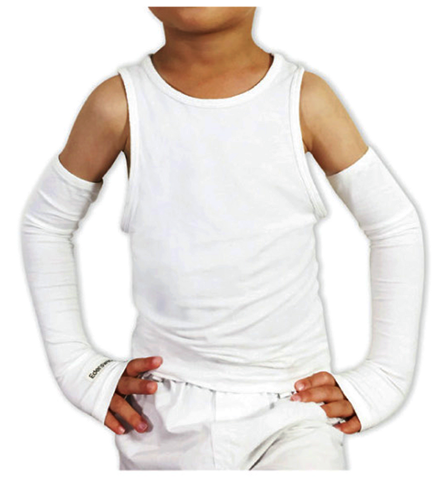 Zinc-infused Sleeves for Kids - Eczema Oasis