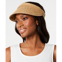 Nine West Packable Straw Visor - Women's-The Pink Pigs, A Compassionate Boutique