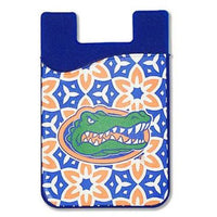 Desden Patterned College Team Cell Phone Wallet-College Sport Team Fans!-The Pink Pigs, A Compassionate Boutique
