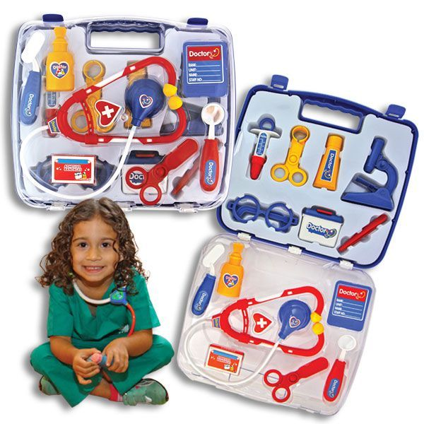 13-Piece Kid's Doctor or Nurse Kit, Encourage Future Health Professionals!-The Pink Pigs, A Compassionate Boutique
