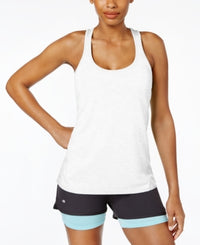 Ideology Rapidry Heathered Racerback Performance Tank Top - XXLarge