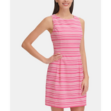 Tommy Hilfiger Sleeveless Infinity-Stripe Dress Sz. 8-The Pink Pigs, A Compassionate Boutique