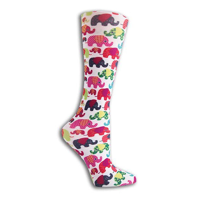 Knee High Compression Socks that are CUTE!  Feel Good & Look Cute Too!