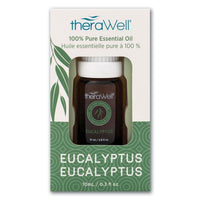 Therawell Eucalyptus Pure Essential Eucalyptus Oil-Helps with Breathing Naturally-The Pink Pigs, A Compassionate Boutique