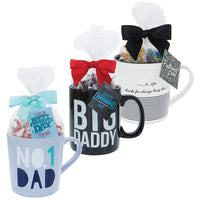 """Big Daddy"" Ceramic Mug 20 oz. - Father's Day Gift-The Pink Pigs, A Compassionate Boutique"