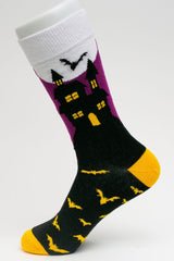 Halloween Socks-Best Selection!  Skeletons, Ghosts, Witches & More!