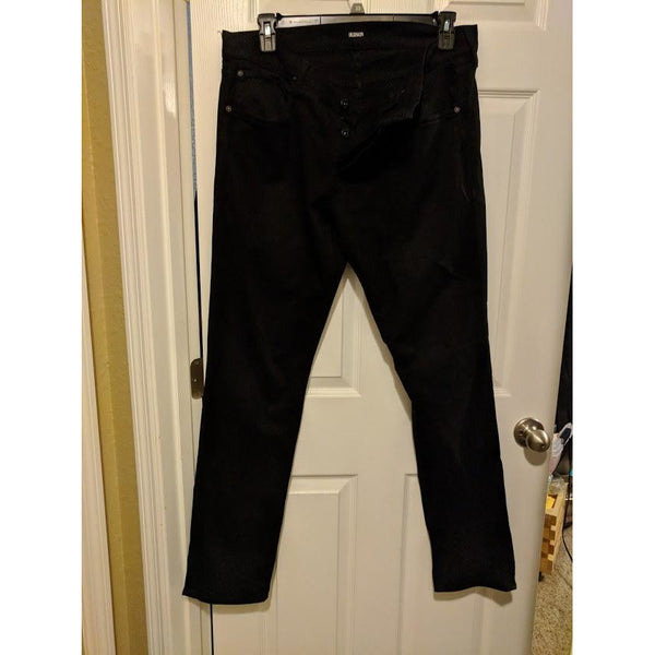 Hudson Men's Black Slim/Straight Jeans, 34 X 34- 40% OFF-The Pink Pigs, A Compassionate Boutique
