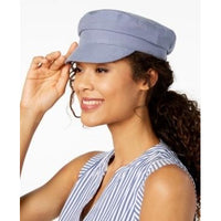 Nine West Cotton Canvas Newsboy Cap - 3 Color Variants-The Pink Pigs, A Compassionate Boutique
