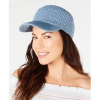 Inc Packable Knit Baseball Cap - Chambray-The Pink Pigs, A Compassionate Boutique