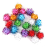 Cat Toy-Sparkle Balls our office cat's FAVORITE!-The Pink Pigs, A Compassionate Boutique