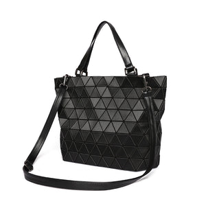 Geometric Totes/Backpacks-Laser Cut-Great Colors!  Get noticed!