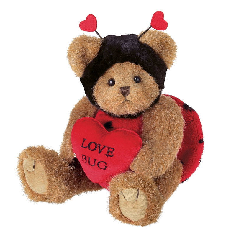 Love Bug Bear and You Stole My Heart Bear, Two Cutie Romantic Bears - The Pink Pigs, A Compassionate Boutique
