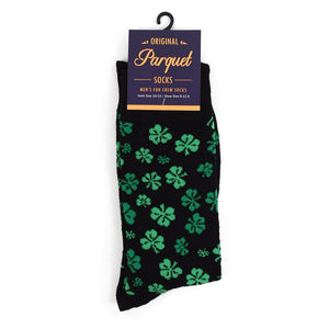 St Patrick's Day Socks-Men & Women's Clover Socks