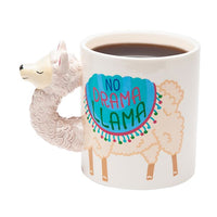 No Drama Llama Coffee Mug-Highest Quality, Super Cute and GIFT BOXED Too!-The Pink Pigs, A Compassionate Boutique