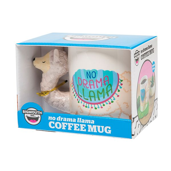 No Drama Llama Coffee Mug-Highest Quality, Super Cute and GIFT BOXED Too! - The Pink Pigs, A Compassionate Boutique