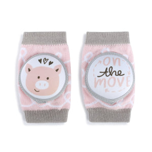 Cute Baby Knee Protectors-Kneezies!  Little Piggy Knee Protectors for Babies