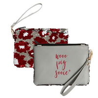 Arkansas Razor Back Sooie Wristlet for Pig Lovers!-The Pink Pigs, A Compassionate Boutique